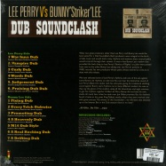 Back View : Lee Perry vs Bunny Striker Lee - DUB SOUNDCLASH (180G LP) - Jamaican / JRLP069 / 168971
