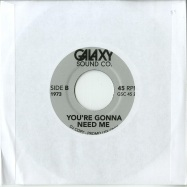 Back View : Various Artists - MISDEMEANOR (JAZZ MIX) / YOURE GONNA NEED ME (7 INCH) - Galaxy Sound Co / GSC45021