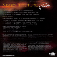 Back View : Fradinho - A BRIGHT FUTURE - Eclectic Beats Music / EBM001