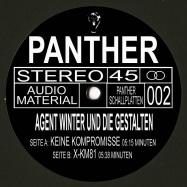 Back View : Agent Winter und die Gestalten - KEINE KOMPROMISSE - Panther Schallplatten / DERPANTHER002