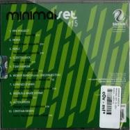 Back View : Various Artists - MINIMAL SET 15 (CD) - Saifam / atl931-2