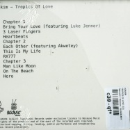 Back View : Joakim - TROPICS OF LOVE (CD) - Tigersushi / Because / BEC5161854