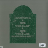 Back View : Shed - DARK PLANET (MODESELEKTOR REMIX) (180G VINYL) - 50 Weapons / 50Weapons045