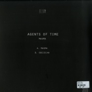 Back View : Agents Of Time - MAGMA / OBSIDIAN - Ellum Audio / ELL034