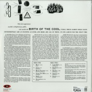 Back View : Miles Davis - BIRTH OF THE COOL (LP) - Not Now Music / notlp218