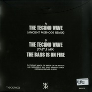 Back View : Interactive - THE TECHNO WAVE (BLACK PRIPLAK JACKET WITH POSTCARD) - Mecanica / MEC028