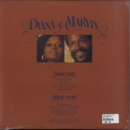 Back View : Diana Ross & Marvin Gaye - DIANA & MARVIN (180G LP + MP3) - Island / 5353426