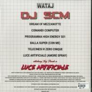Back View : DJ SCM - INTRODUCING TONY PIANOLA IN LUCE ARTIFICIALE - WATAJ Recordings / WTJR2228