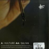 Back View : Jam Baxter - VULTURE / SALIVA (7 INCH) - High Focus / HFRSI008