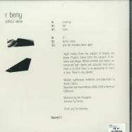 Back View : R Beny - ECHOS VERSE (LP) - DAUW / DAUWLP03