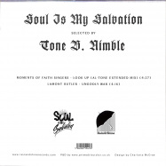 Back View : Tone B. Nimble - SOUL IS MY SALVATION CHAPTER 2 (7 INCH) - Rain&Shine / RSRSIMS002
