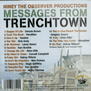 Back View : Various Artists - NINEY THE OBSERVER PRODUCTIONS - MESSAGES FROM TRENCHTOWN (CD) - Jamaican Recordings / kscd034