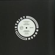Back View : Various Artists - BROKEN DISTRICT 01 - Broken District / BKD001