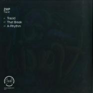 Back View : Z@P - TRACID (B-STOCK) - Cartulis Music / CRTL 006