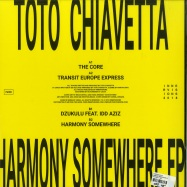 Back View : Toto Chiavetta - HARMONY SOMEWHERE EP - Innervisions / IV80