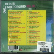 Back View : Various Artists - BERLIN UNDERGROUND VOL. 8 (2XCD) - More Music / 8951404