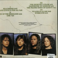 Back View : Metallica - ...AND JUSTICE FOR ALL (180G 2LP) - Blackened / BLCKND007R-1 / 6769023