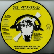 Back View : The Weathermen - LONG LOST LIVE INSTRUMENTAL BACKING TAPES: POISON! (PICTURE DISC+MP3) - WOOL-E DISC / WED032V