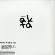Back View : Various Artists - VARIOUS ARTISTS VOL 1 (180G VINYL ONLY) - AKTA Records / AKR01