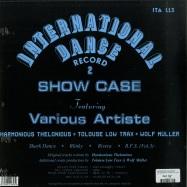 Back View : Harmonious Thelonious - INTERNATIONAL DANCE RECORD 2 - Italic / ITA113