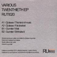 Back View : DJ Steaw / Gunnter - TWENTIETH EP - Rutilance / Ruti020
