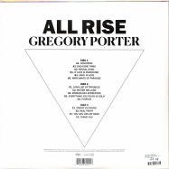 Back View : Gregory Porter - ALL RISE (LTD BLUE 3LP) - Blue Note / 0862015