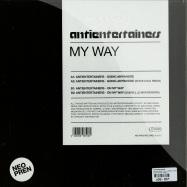 Back View : Antientertainers - MY WAY (STEVE COLE / GABRIEL LE MAR MIXES) - Neopren / neo024