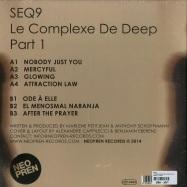 Back View : Seq9 - LE COMPLEXE DE DEEP (PART 1) (LP) - Neopren / neo032