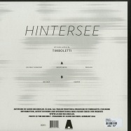 Back View : Timboletti - HINTERSEE EP - Acker Records / Acker 048