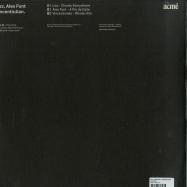 Back View : Lizz / Alex Font / Vincentiulian - ACME 006 - ACME / ACME 006