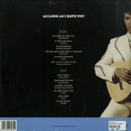 Back View : Elvis Presley - AS LONG AS I HAVE YOU (180G LP) - Disques Dom / ELV308 / 7981096