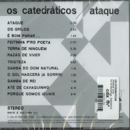 Back View : Os Catedraticos - ATAQUE (CD) - Far Out Recordings  / FARO207CD