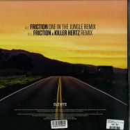 Back View : Fatboy Slim - RIGHT HERE RIGHT NOW - DJ FRICTION REMIXES - Elevate Records / ELA018