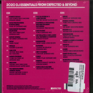 Back View : Various Artists - DEFECTED PRESENTS MOST RATED 2020(3XCD, UNMIXED) - Defected / Rated31CD
