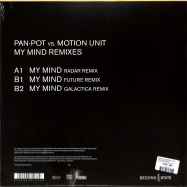 Back View : Pan-Pot vs. Motion Unit - MY MIND REMIXES - Second State Audio / SNDST080