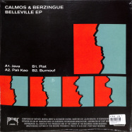 Back View : Calmos & Berzingue - BELLEVILLE EP - Pont-Neuf Records / PN015
