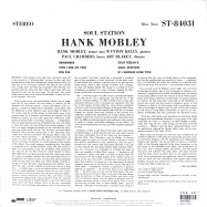 Back View : Hank Mobley - SOUL STATION (LP) - Blue Note / 0746554