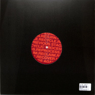 Back View : Recycle - FLASH & CASH EP (RED VINYL) - Planet Rhythm / RECYCLE001