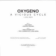 Back View : Oxygeno - A VICIOUS CYCLE - Lost Verses / LV002