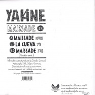 Back View : Yakine - La Maissade EP - Supplement Facts / SFR016
