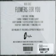Back View : Nick Sole - FLOWERS FOR YOU (CD) - Mojuba / MojubaCD2