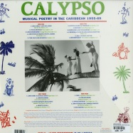 Back View : Various Artists - CALYPSO: MUSICAL POETRY IN THE CARIBEAN 1955-69 (2X12 LP + MP3) - Soul Jazz Records / sjrlp274