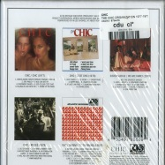 Back View : Chic - THE CHIC ORGANIZATION 1977-1979 (5XCD BOX) - Atlantic / 8754476