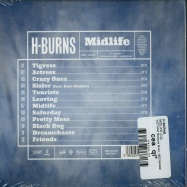 Back View : H-Burns - MIDLIFE (CD) - VIETNAM, Because Music / BEC5543921