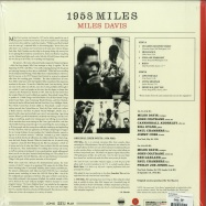 Back View : Miles Davis - 1958 MILES (LTD.180G FARBIGES VINYL)  - Waxtime / 012950684