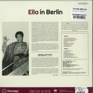 Back View : Ella Fitzgerald - ELLA IN BERLIN: MACK THE KNIFE (180G LP) - MatchBall Records / 29018 /9131585