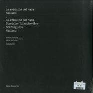 Back View : Neiland - LA AMBICION DEL NADA (STANISLAV TOLKACHEV RMX) - Nada Records / NADA01