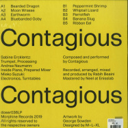 Back View : Contagious - CONTAGIOUS (LP) - Morphine / Doser 036
