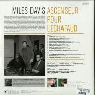 Back View : Miles Davis - ASCENSEUR POUR L ECHAFAUD (180G LP) - Jazz Images / 1024800EL1