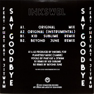 Back View : Inkswel - SAY GOODBYE - Cosmocities Records / CMSR004